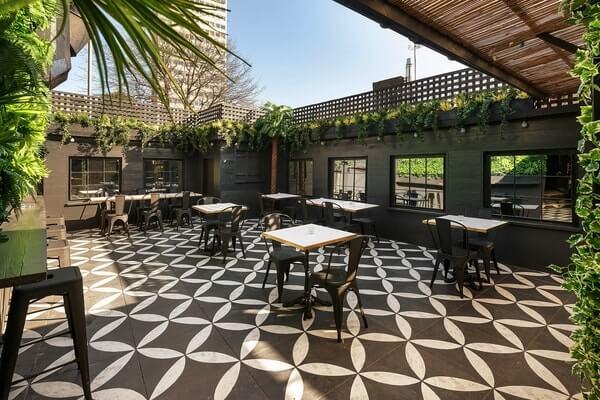 Lost society venue hire outdoor terrace