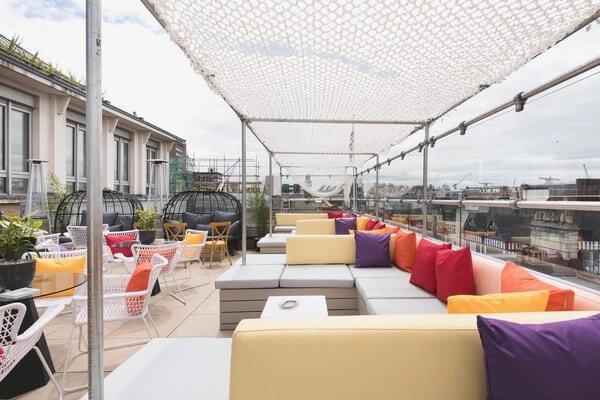 Soho Sky Terrace London rooftop venues