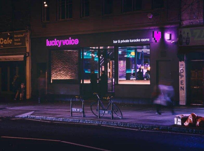 Lucky Voice karaoke Islington