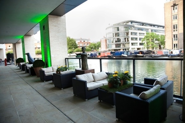 Kings Place Events London summer terrace