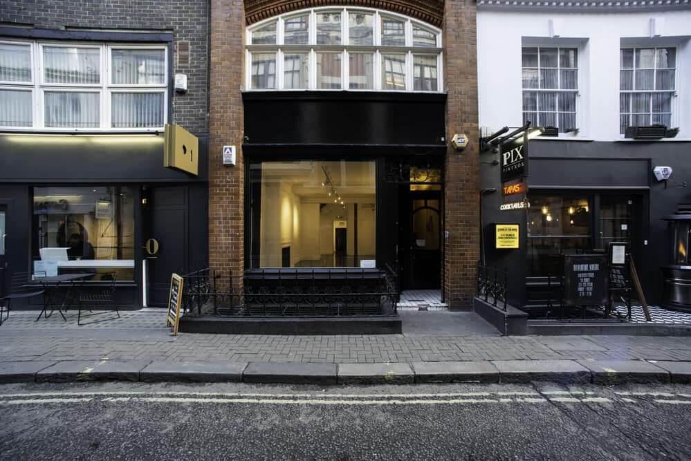 15 Bateman Street Venue hire