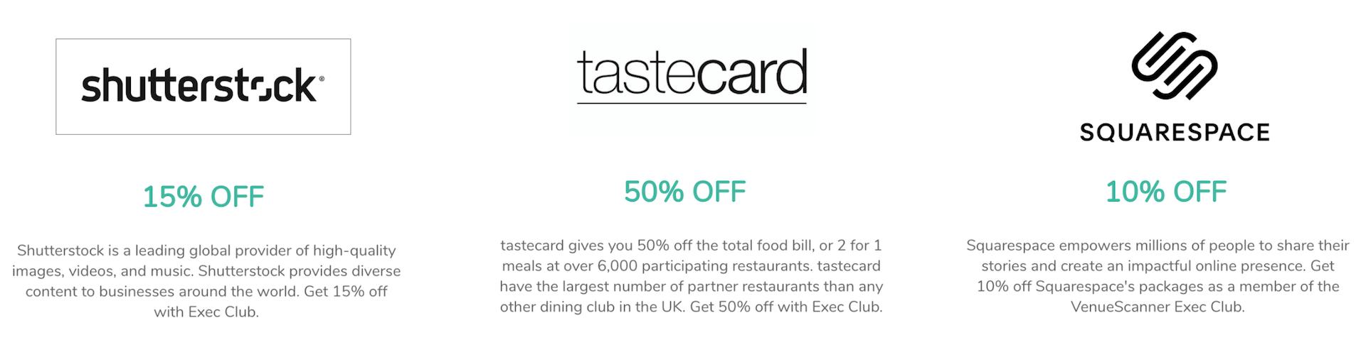 partner discounts exec club 6